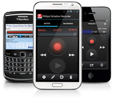 Mobile App for Android, iPhone / iPad, and Blackberry